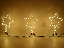 UK-Gardens Ropelight Star Pathway Lighting - Outdoor Garden Lighting Or Indoor U