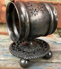 Good Figural Silver Plate Victorian Napkin Ring