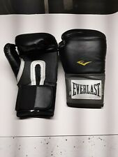 Everlast Pro Style Training Boxing Gloves with EverFresh Black 16oz Adult Used