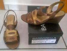 Sandaletten Große 38, bronze/gold, neu
