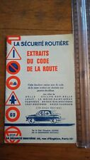 La sécurité routière à l'école - Extraits du code de la route