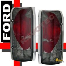 90-96 Ford F150 Pickup 92-96 Bronco 97 98 F-250 F-350 Tail Lights Smoke 1 Pair