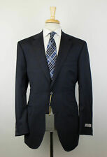 NWT CANALI 1934 Gray Windowpane Wool 2 Button Trim/Slim Fit Suit 56/46 R $1795