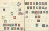 RARE 1850-1890 ITALY STAMP COLLECTION. AMAZING EARLY COLLECTION