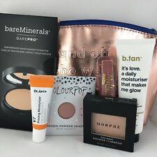 Cosmetic Makeup Lot March 2019 Ipsy Bag Face ColorPop Morphe Too Faced BTan 6pcs
