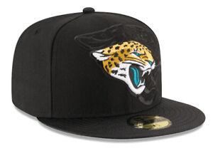 JACKSONVILLE JAGUARS NEW ERA SIDELINE HAT 59FIFTY NFL FOOTBALL ONFIELD CAP