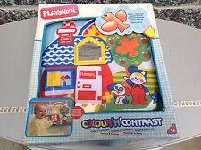 1989-1991 Playskool Baby Colour'n Contrast Musical Bird Misb