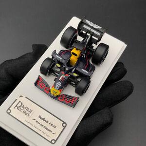 MiniRacing 1:64 Scale 2020 F1 RedBull RB16 #1 Max Verstappen Q Car Model Limited