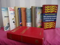 Lot de 10 livres de Pierre Daninos. Très bon état.