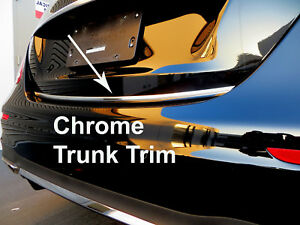 Fit BUICK 2002-2019 Models Tailgate TRUNK Trim Molding - CHROME Style