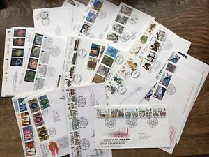 Collection Of 50 GB First Day Covers
