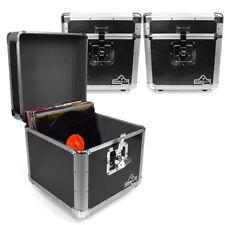 "Gorilla LP100 12"" LP Vinyl Record Box DJ Storage Carry Case (Carbon Black) x3"