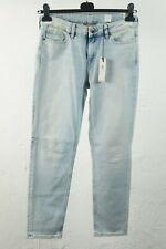 Tommy Hilfiger Griffin RW Ankle Hol Damen Slim Boyfriend Jeans Hose blau 28 #S10