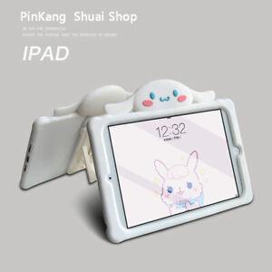 Cinnamoroll Cartoon Taipa Silica Gel Soft Bracket TabletCase For Apple iPad 2345
