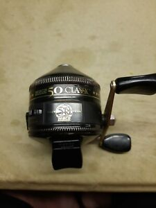 Zebco 50 Classic Spin Cast Fishing Reel . # 492