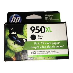Brand New GENUINE HP Black 950XL Ink Cartridge Exp 2/22 Bought by Mistake SEALED