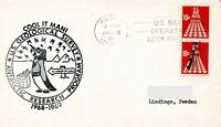 7 x Polarpost USA 1969 I