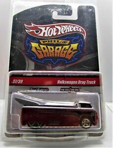 Hot Wheels Phil's Garage  Volkswagen Drag Truck, Real Riders