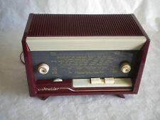 Vintage Radio French Schneider Calypso designer Table top model 1950s