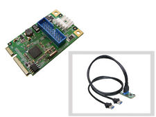 Card Minipcie - Usb3 Superspeed - 2 Ports - Mini PCI Express