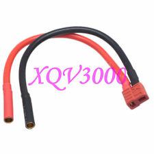 Ultra Lipo Charge Cable Esc Xt Anti-Slip T-Plug Female to 4mm Bullet Female
