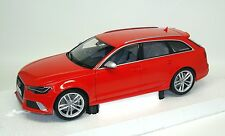 Audi rs6 RS 6 avant c7 2013-rojo red Rouge Rosso-Minichamps 110012011 1:18