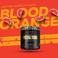 Redcon1 TOTAL WAR Pre-Workout 30 Servings - Blood Orange(Oct/02/ 2020)