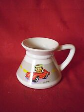 "VINTAGE 1978 ""GARFIELD MUG"" SPORTS CAR  made in korea"