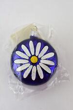 New listing Patricia Breen Daisy Medallion Christmas Ornament Violet #9899 1998 New
