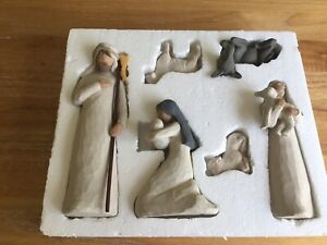 Willow Tree Christmas Nativity Six Piece Set By Demdaco Artist Susan Lordi