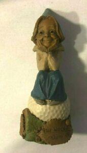 "Collectible Tom Clark Golf Gnomes ""Golf Widow"" 1998"