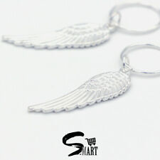 SILVER FEATHER WINGS Hair Rings For Tresses Braids Plaits Accessories 10/20Set