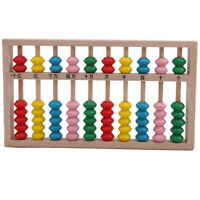 Kids Boy Girl Baby Learning Early Development Abacus Wooden Toys ONE
