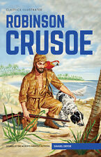 Classics Illustrated Hardback Robinson Crusoe (Daniel Defoe) (Brand New)