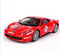 Bburago 1:24 Ferrari 458 CHALLENGE Diecast Model Sports Racing Car Vehicle Toy