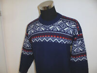 Nornitter Norweger Pulli Strickpullover norway Wollpulli hippie outdoor M/L