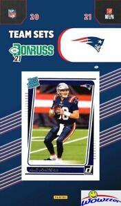 New England Patriots 2021 Donruss NFL Team Set-MAC JONES Rated Rookie, Tom Brady