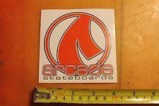 Arcade Skateboards Skateboarding Decal Sticker