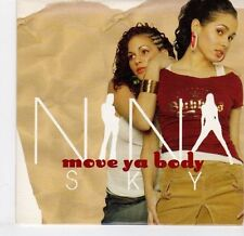 (EL440) Nina Sky, Move Ya Body - 2004 DJ CD