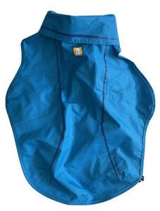 Ruffwear Sun Shower Dog Waterproof Raincoat Size Small