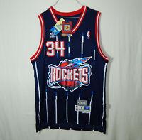 NWT Hakeem Olajuwon Houston Rockets NBA Basketball Jersey ADIDAS Soul Swingman S