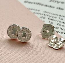 Original TOUS Silver AURA Pendientes