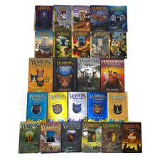 Huge Lot Of 25 Warrior Cats Books by Erin Hunter