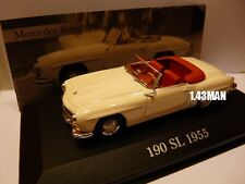 voiture 1/43 ixo altaya MERCEDES : 190 SL 1955