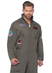 Leg Avenue TG83702X Top Gun Flight Suit 3XL - TG83702X