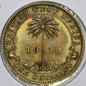 British West Africa 1936 Shilling 297786 combine shipping