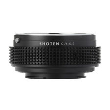 Shoten Lens Adapter for Contax Yashica to Sony E a6000 a6300 A7 A7III A7RIII