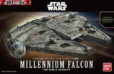 Halcón Milenario Star Wars The Force despierta escala 1/144 Modelo Kit Bandai Japón
