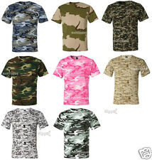 Code V Camouflage Camo Short Sleeve T-Shirt 3906 S-4XL