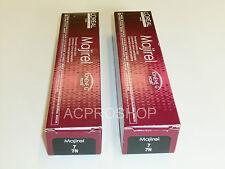 2 X L'Oreal Professionnel Majirel Permanent Creme Color Ionene G Incell 7 / 7N
